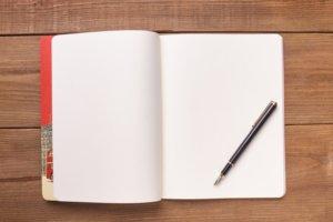 ノートの書き出す